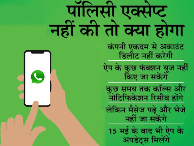 WhatsApp अकाउंट 120 दिनों के बाद डिलीट