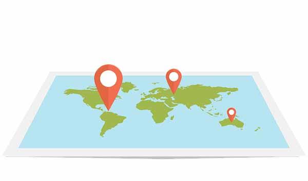 Informasi Lokasi Pada Peta