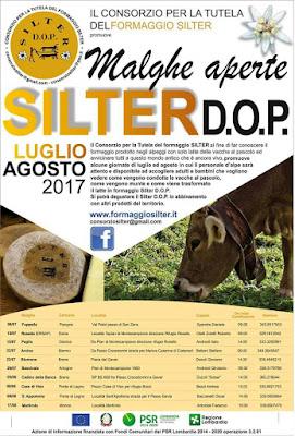 Malghe aperte Silter DOP  dall'8 luglio al 17 agosto Alta Valle Camonica (BS)