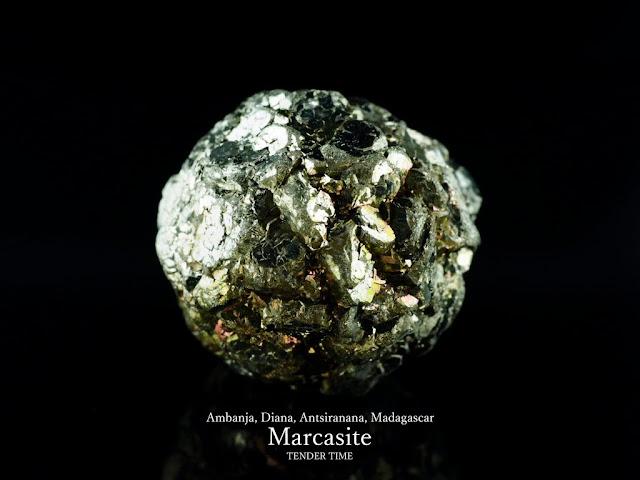 マーカサイト 白鉄鉱 MARCASITE Ambanja, Diana, Antsiranana, Madagascar