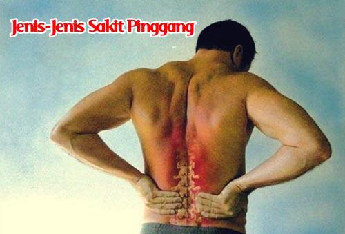 jenis-jenis sakit pinggang