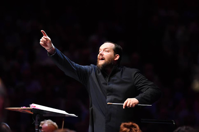Prom 47: Bruckner Symphony no. 8 - Andris Nelsons (Photo BBC / Chris Christodoulou)