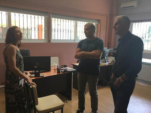 Επίσκεψη του Γιάννη Γκιόλα στην ΑΣΠΑΙΤΕ Άργους