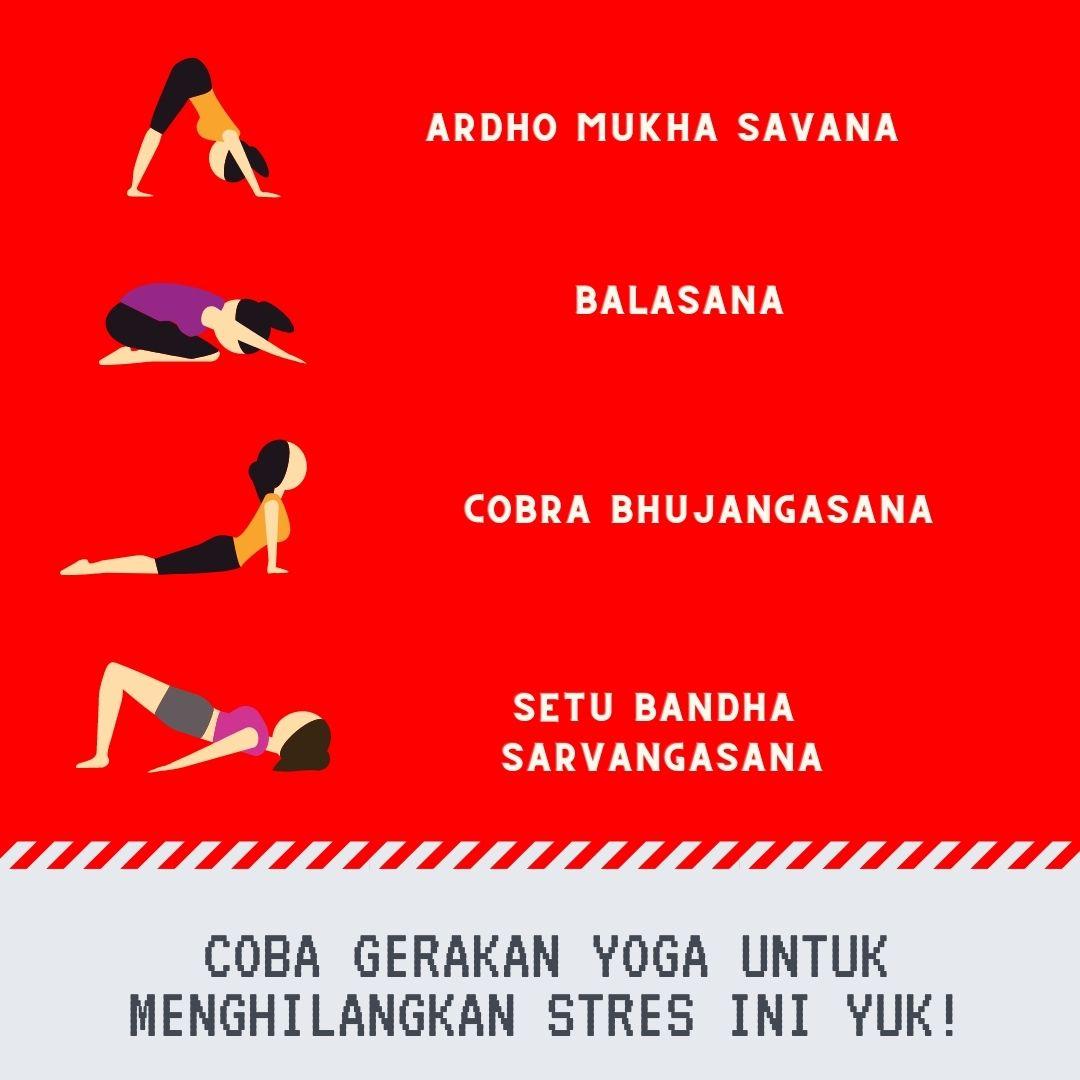 Yoga untuk Menghilangkan stress