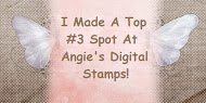 Top 3 Winner at Angie's Digital Stamps