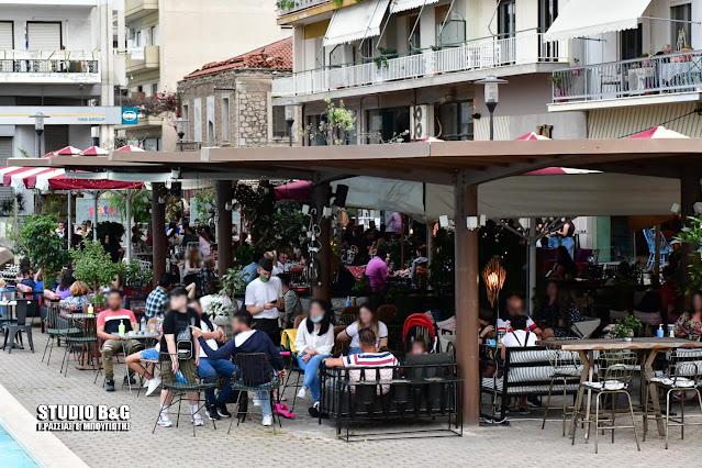 Άργος: Θυμίζει γιορτή το άνοιγμα της εστίασης
