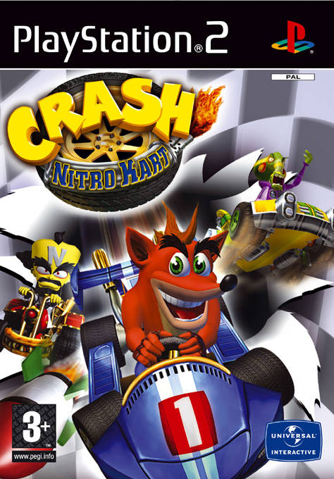 Crash Nitro Kart PAL PS2