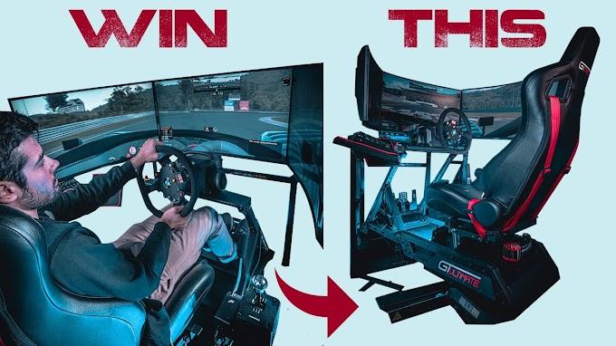 Sorteio Simulador de corrida + PC Gamer com RTX 3080