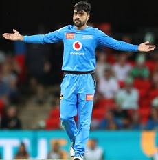 Rashid Khan takes his third T20 hat-trick in BBL09 and overall fifth player to do so.