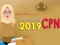Info CPNS Terbaru 2019 : Ini Syarat, Gaji & Fasilitasnya!