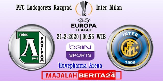 Prediksi Ludogorets Razgrad vs Inter Milan