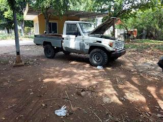 Bahan Toyota Land Cruiser LJ75 Bundera Pick Up 1997 Mesin Hidup