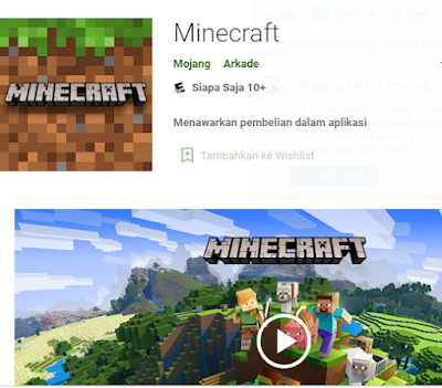 Link Download Minecraft 1.17 Pocket Free Aplikasi Edition Instal dari Play Store Android Terbaru