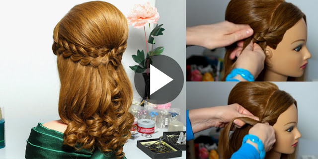 How To Make French Braids Hairstyle At Home!