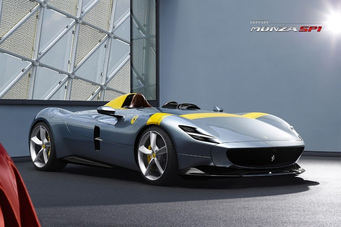 Ferrari's Monza SP1 Receives the iF Design Gold Award