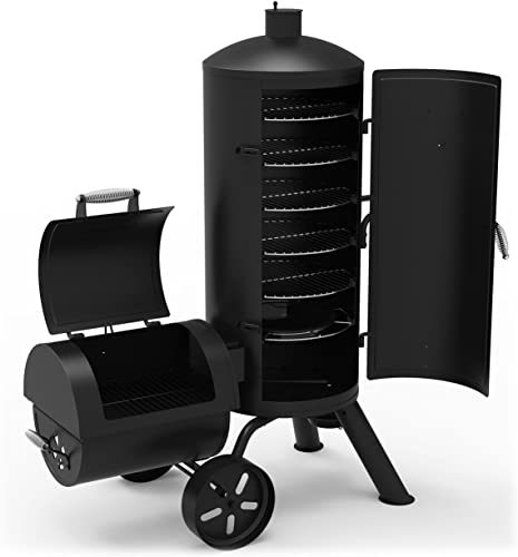 Dyna glo signature series vertical offset smoker