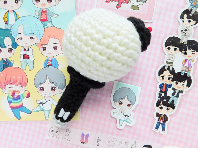 Bts Army Bomb Light Stick Crochet Pattern Mooeyandfriends