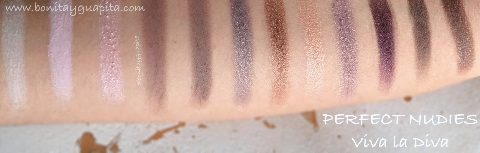 perfect nudies viva la diva swatches