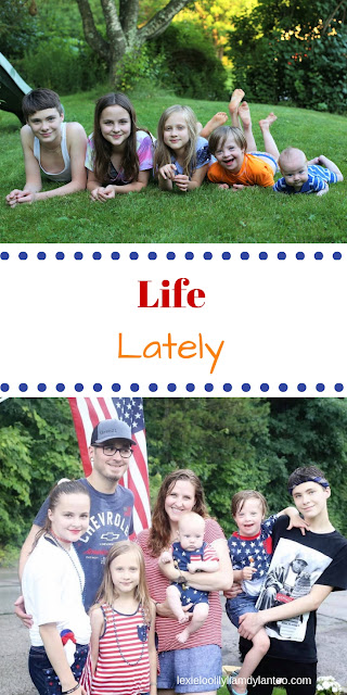 Life Lately in a big family