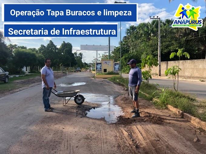 Secretaria de infraestrutura começa o ano trabalhando a todo vapor em Anapurus
