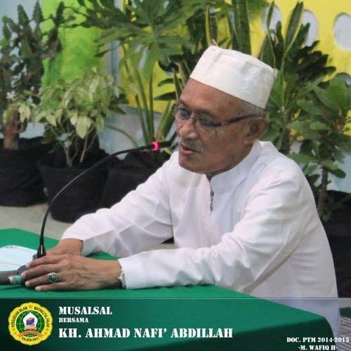 KH. A. Nafi' Abdillah Kajen Pati: Sang Penyejuk Jiwa Telah Dipanggil Yang Kuasa