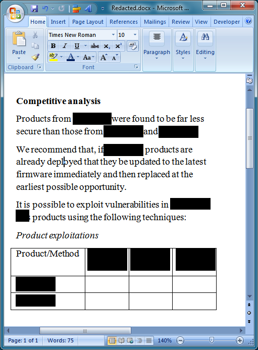 Simon PG Edwards: Quick and dirty redaction
