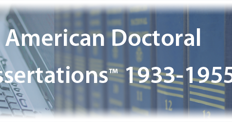 American doctoral dissertations online in musicology