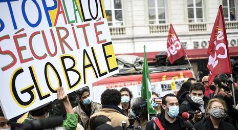 فرنسا: حشود ضد قانون 'الأمن العالمي'