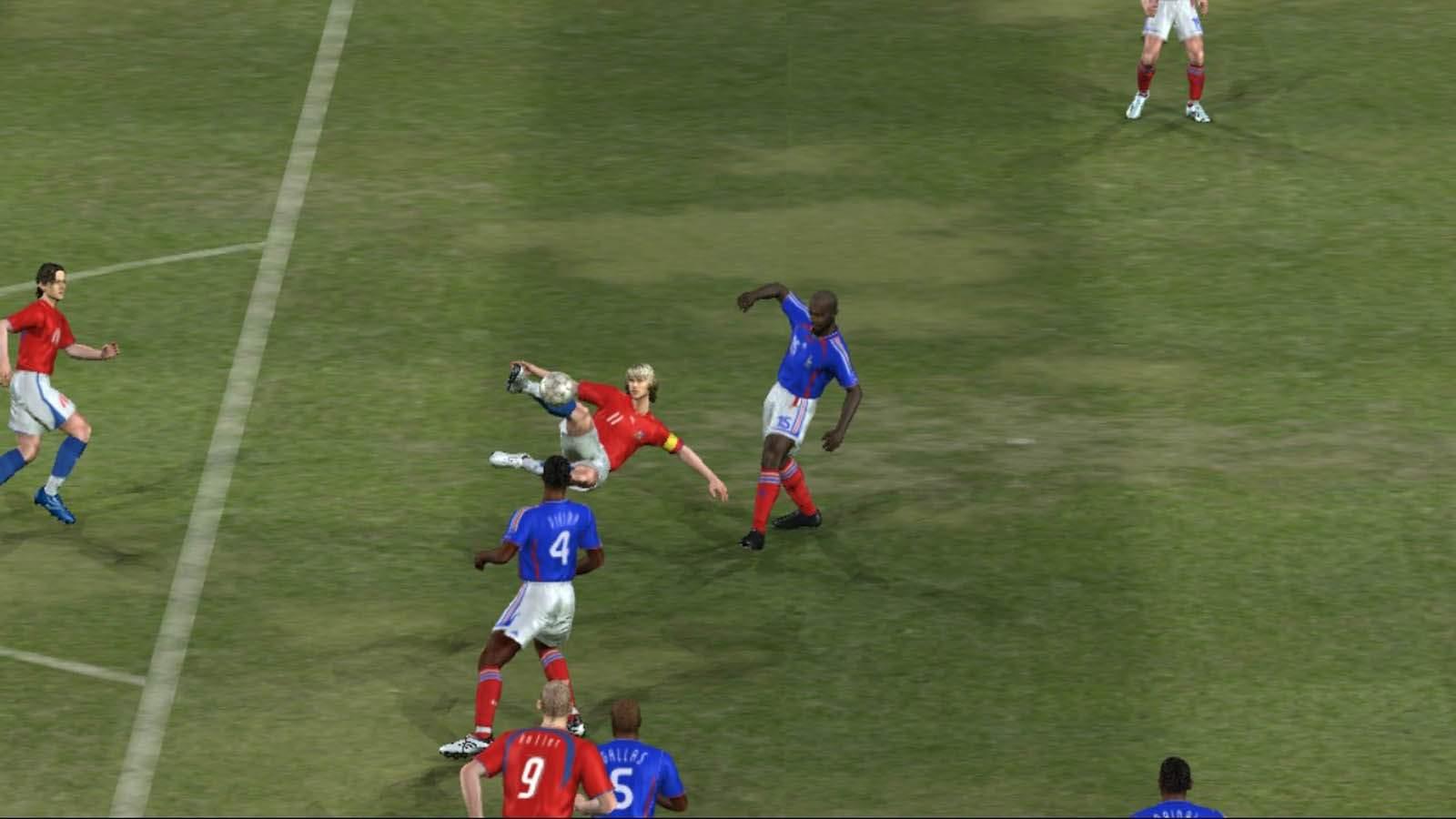 تحميل لعبة PES 2006 مضغوطة برابط واحد مباشر + تورنت كاملة مجانا