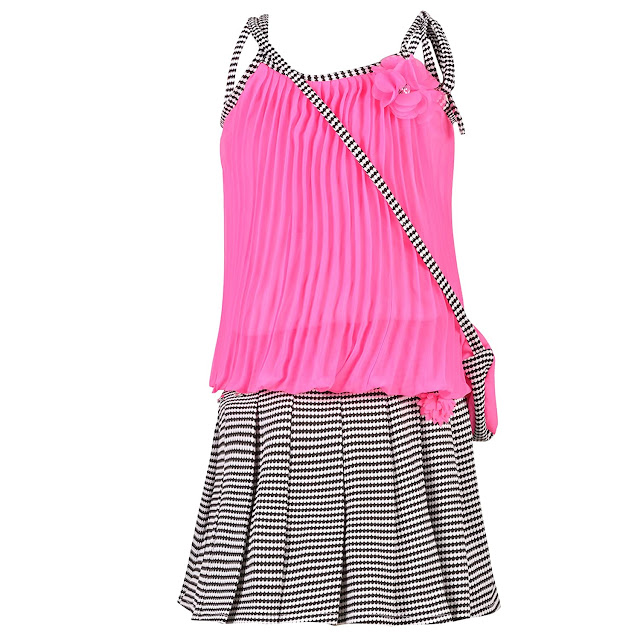Girl's A-Line Mini Dress