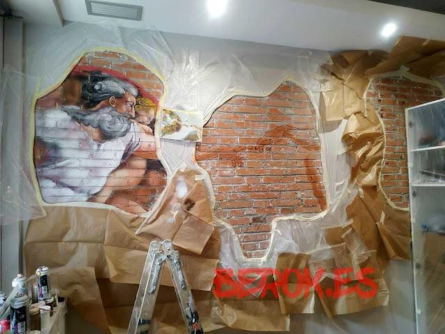 Murales decorativos Barcelona