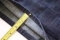accorciare pantaloni, stringere, allargare