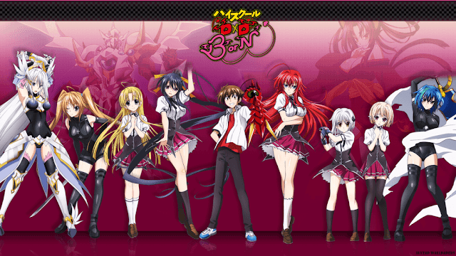 High School DxD BorN ( Season 3 ) BD + OVA Sub Indo : Episode 1-12 END + 1 OVA | Anime Loker