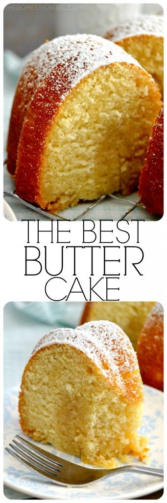 THE BEST BUTTER CAKE