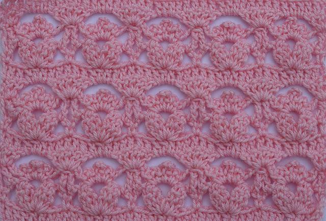 6-Crochet Imagen Puntada de flores a crochet y ganchillo por Majovel Crochet