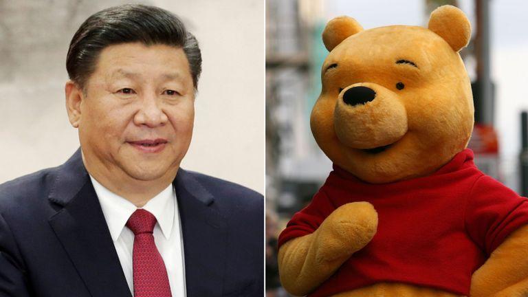 Xi Jinping, Winnie the Pooh