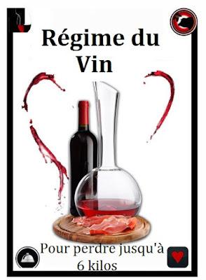 Avec le régime du vin, vous perdez jusqu'à 6 kilos!