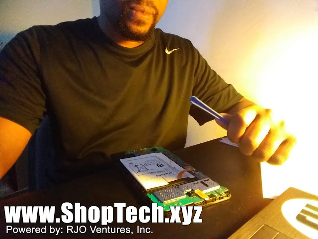 Troubleshooting a Samsung Galaxy Tablet; New Devices for Sale at www.ShopTech.xyz, Powered by: RJO Ventures, Inc.