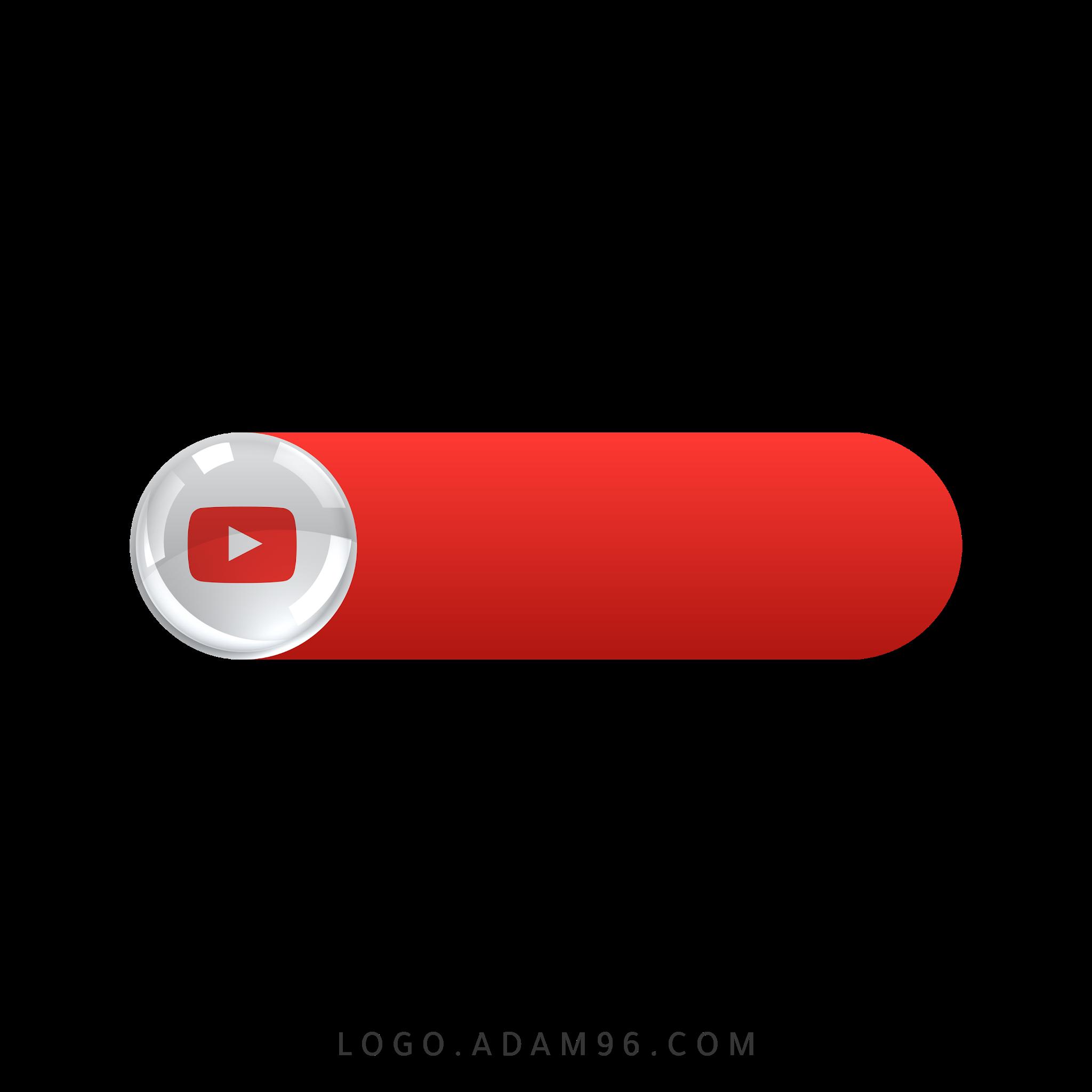 تحميل ايقونة موقع يوتيوب للتوقيع لوجو يوتيوب للمنتاج والتصميم بصيغة شفافة PNG