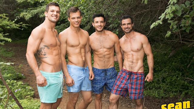 Puerto Rico Day 4 : Brysen, Daniel, Jayden & Manny (Bareback)
