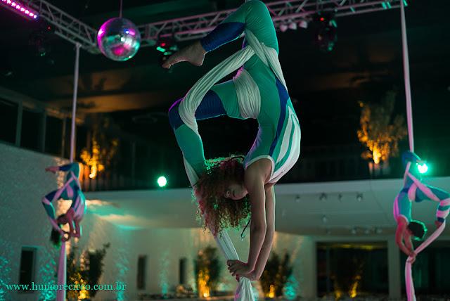 Show circense para lançamento de produto da Servier do Brasil realizado no costa Brava Clube Rio de Janeiro.