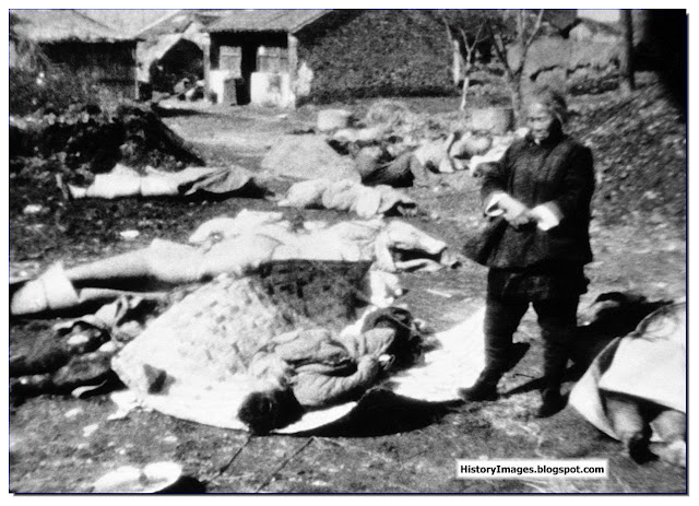 Chinese people massacred Japan occupation Nanking February 5 1938