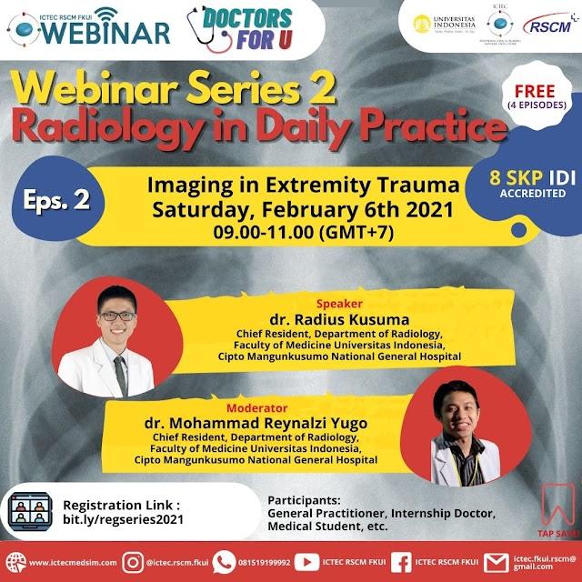 Free SKP IDI Webinar Series DFU Radiology Episode 2 Imaging in Extremity Trauma