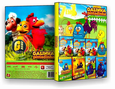 DVD Coleção - Galinha Pintadinha - 7 em 1 - ISO