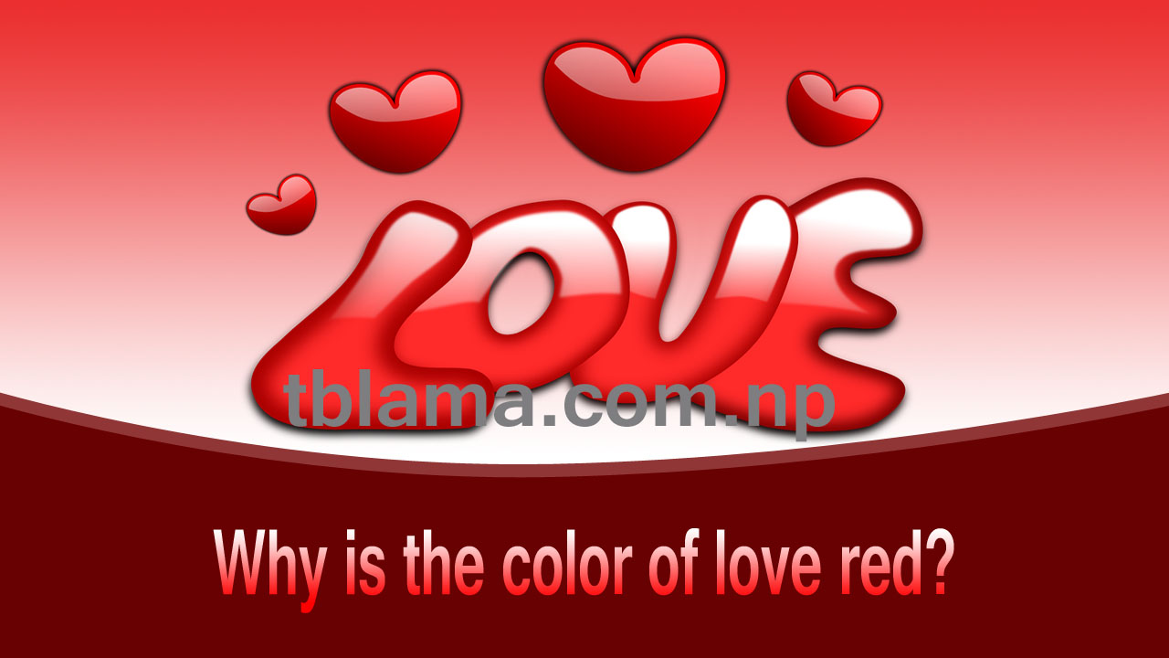 Why is the color of love red? Let's know.