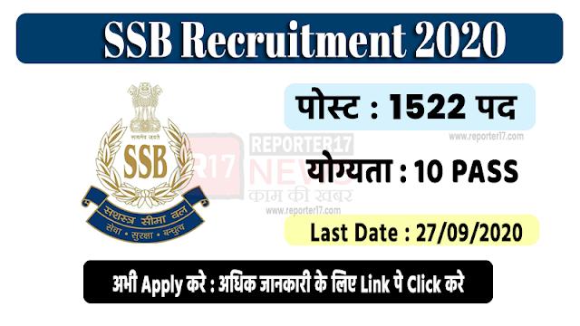 Job Recruitment 2020