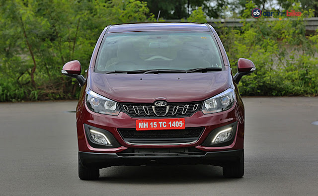 All New 2018 Mahindra Marazzo Red Color