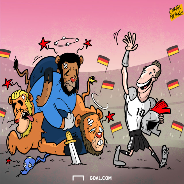 Lukas Podolski cartoon