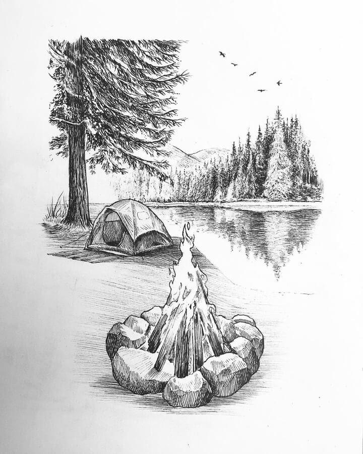09-Camping-on-the-lake-Jonny-Seymour-www-designstack-co