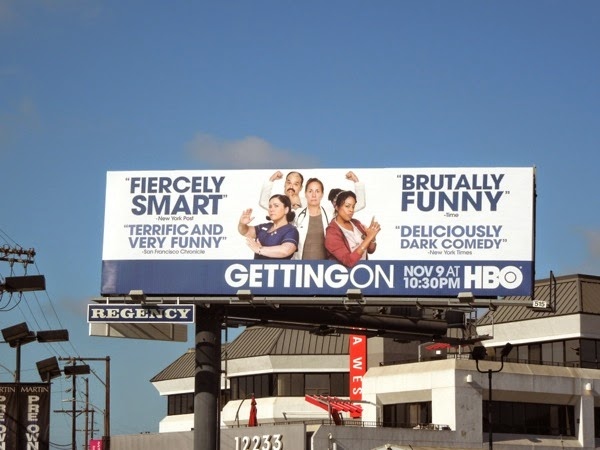 Getting On season 2 HBO billboard